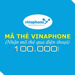 Mua thẻ Vinaphone 100.000đ