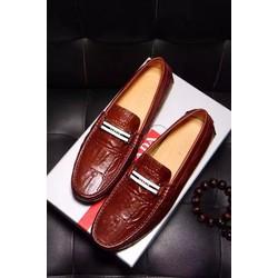 Giày da nam hàng hiệu Prada lịch lãm. Mã SD1193