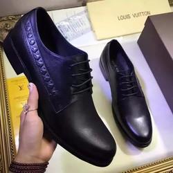 Giày da nam hàng hiệu LV cao cấp. Mã SD1165