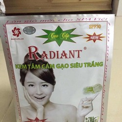 Tắm trắng cao cấp Radiant cám gạo