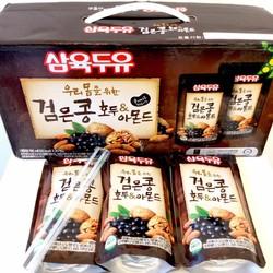 Nước óc chó đậu đen Hàn Quốc