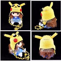 Nón len Pikachu cho bé