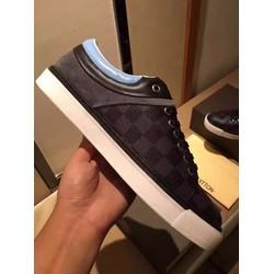 Giày da nam hàng hiệu LV cao cấp.  Mã SD1160