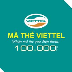 Mua thẻ Viettel 100.000đ
