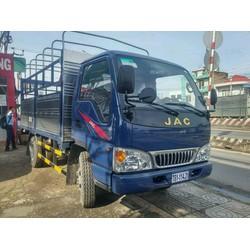 xe tải jac 2t4 thùng 3m7 vô thành phố