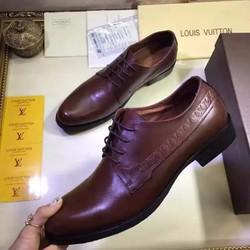 Giày da nam hàng hiệu LV cao cấp. Mã SD1164
