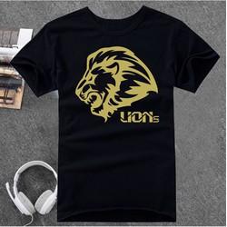 ÁO THUN UNISEX LIONS ĐEN NHIỀU MÀU
