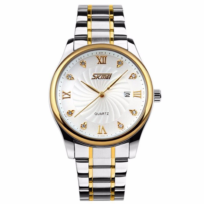 Đồng hồ nam kim vàng cao cấp 1