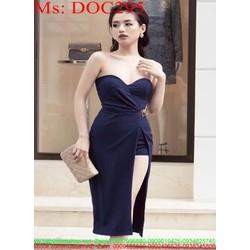Đầm ôm cúp ngực kiểu xẻ tà sành điệu thời trang DOC295 View