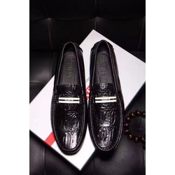 Giày da nam hàng hiệu Prada lịch lãm. Mã SD1192