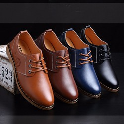 Giày da nam đế bằng GD123
