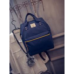 Balo vải nữ Quốc Anello thời trang màu xanh đậm – W298