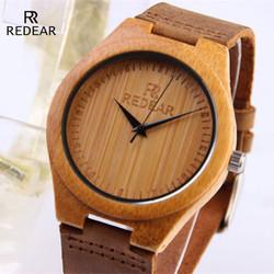 Đồng hồ nam vỏ gỗ Redear SP520