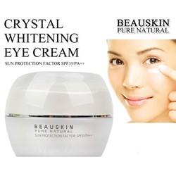 Kem dưỡng trắng da vùng mắt Beauskin Crystal Whitening Eye Cream 30g