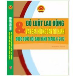 Bộ Luật lao động song ngữ Việt - Anh 2012 -2013