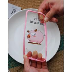 Ốp lưng kèm slogan cực dễ thương cho Iphone - Giá Cực Sốc