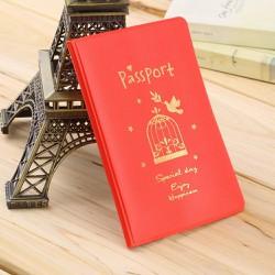 Ví passport họa tiết - Da mềm cực đẹp