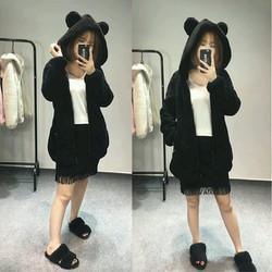 Áo khoác lông gấu nhỏ_ak309