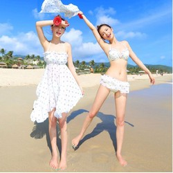 Set bikini 3 món đi biển