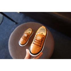 Giày lười buộc dây nam, màu nâu