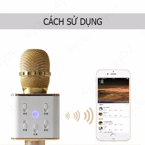 Micro karaoke Q7U 3 trong 1 2