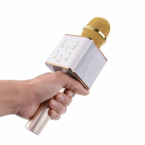 Micro karaoke Q7U 3 trong 1 5