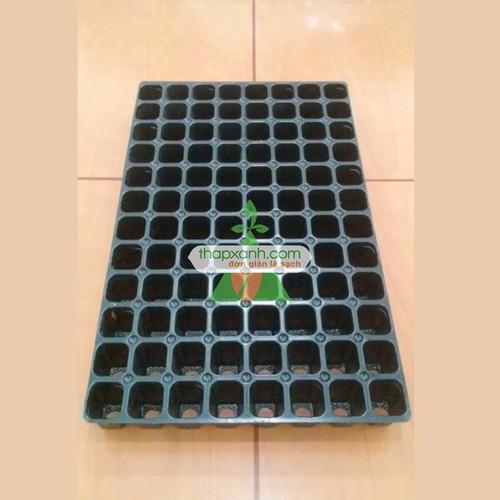 Bộ 10 khay nhựa ươm cây 128 lỗ, vỉ ươm hạt giống, khay nhựa pvc ươm hạt rau hoa - 16896230 , 4247614 , 15_4247614 , 100000 , Bo-10-khay-nhua-uom-cay-128-lo-vi-uom-hat-giong-khay-nhua-pvc-uom-hat-rau-hoa-15_4247614 , sendo.vn , Bộ 10 khay nhựa ươm cây 128 lỗ, vỉ ươm hạt giống, khay nhựa pvc ươm hạt rau hoa