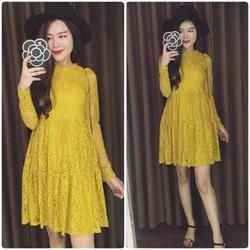 Váy ren Quảng Châu hàng đẹp