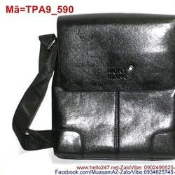 Túi đeo ipad da màu đen sang trọng cá tính TPA9
