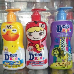 Dầu gội 2 trong 1 trẻ em D-nee Kids