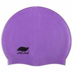 Nón bơi thương hiệu JIEJIA Phụ kiện cho bạn - Tím