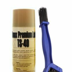 Bộ bàn chải vệ sinh sên và chai xịt rửa sên TS-40 450ml