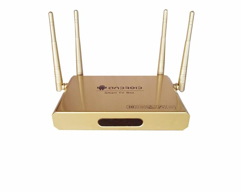 Android Tivi Box 4 anten + tặng chuột không dây và kho ứng dụng 3