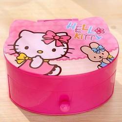 Hộp phụ hiện có gương Hello Kitty