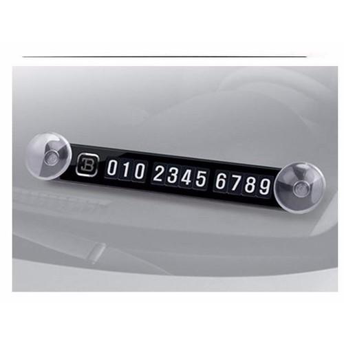 Thẻ số điện thoại dán kính ô tô