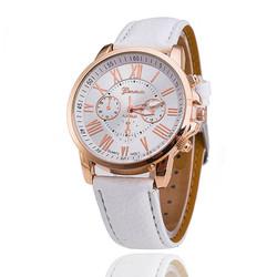 Đồng hồ nữ dây da tổng hợp Geneva GE003