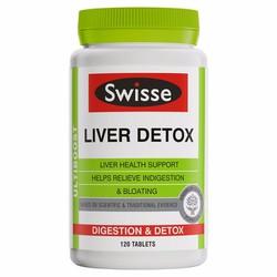 Viên uống bổ gan và giải độc gan Swisse Liver Detox 120 viên của Úc