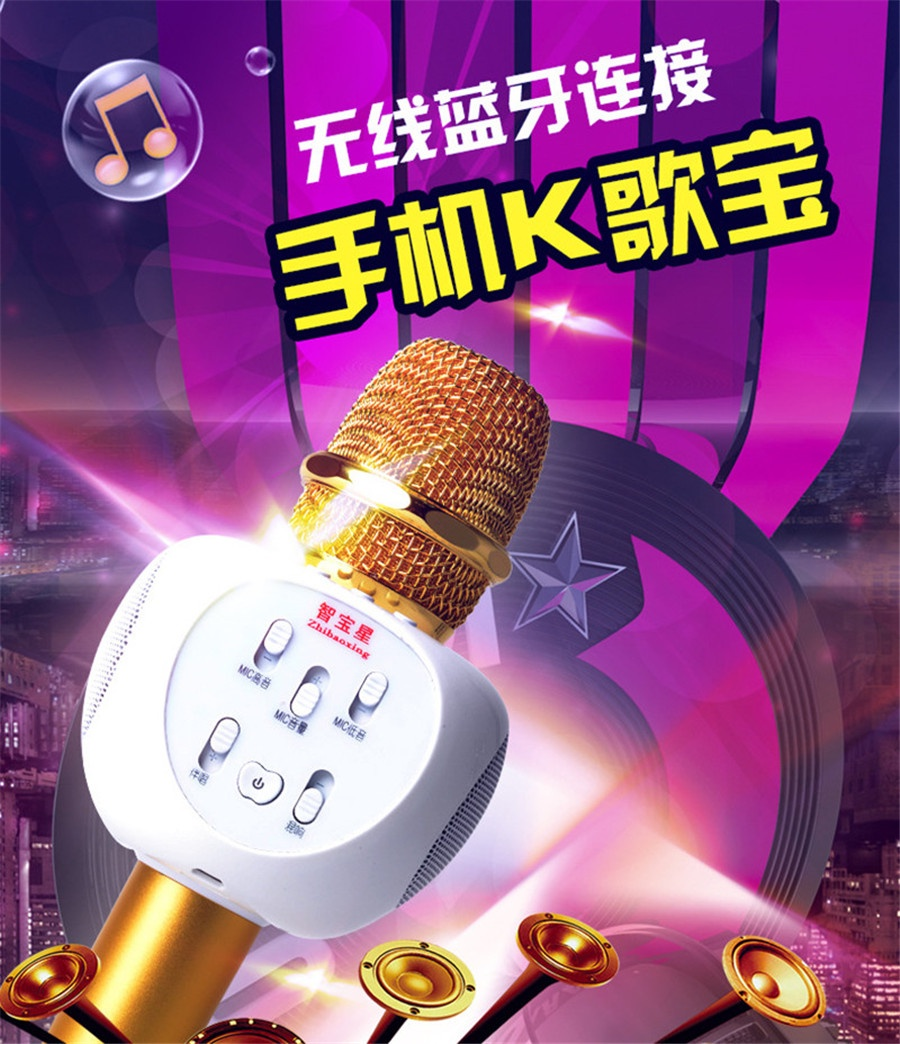 Micro Karaoke Buetooth Cao Cấp ZBX-66 1