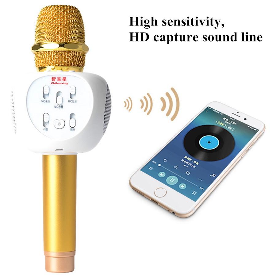 Micro Karaoke Buetooth Cao Cấp ZBX-66 8