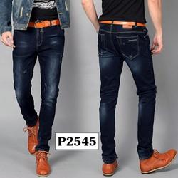 Quần Jeans Nam Wash Cao Cấp, Form Chuẩn Bao Đẹp
