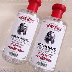 Nước Hoa Hồng Thayers Alcohol Free Witch Hazel Toner rose petan