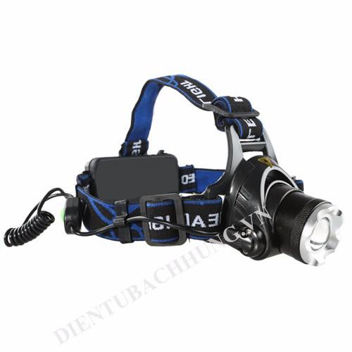 Đèn pin đeo đầu HY-2181 [chạy 2 pin 18650]