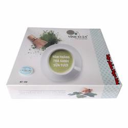 Kem tắm trắng toàn thân trà xanh sữa tươi Vĩnh Xuân 5 gói