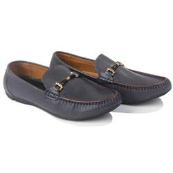 Giày mọi da bò cao cấp đen bóng