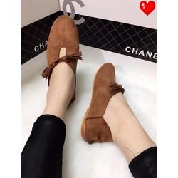 Giày lười tua rua - G01228