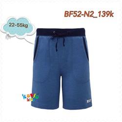 Quần short nam có dây-st.blue size 8,10,16