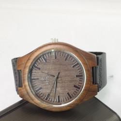 Đồng hồ nam Redear vỏ gỗ dây da thật DSA521