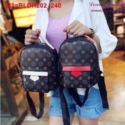Ba lô đi học đi chơi da pu thời trang hàn quốc BLDH202