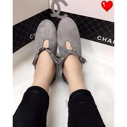 Giày lười tua rua - G01227