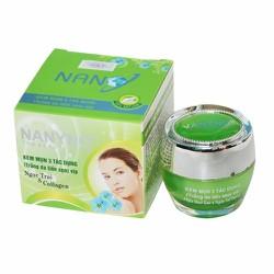 Kem trị mụn - Trắng da - Liền Sẹo Ngọc Trai và Collagen NaNyNo